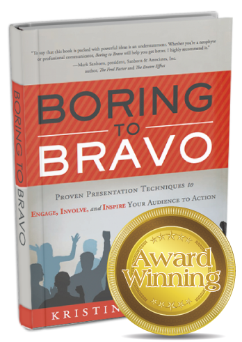 Boring to Bravo Kristin Arnold
