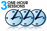 3 One-Hour Sessions